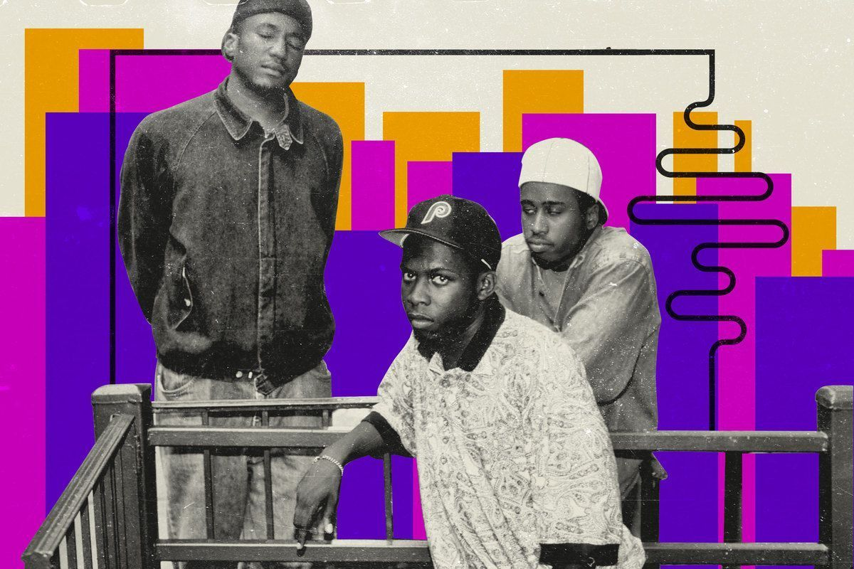 '60 sange, der forklarer 90'erne ': A Tribe Called Quest's' Scenario 'and the Art of the Perfect Posse Cut